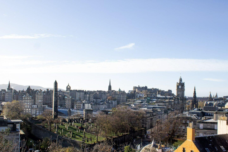 48 hours in Edinburgh Scotland