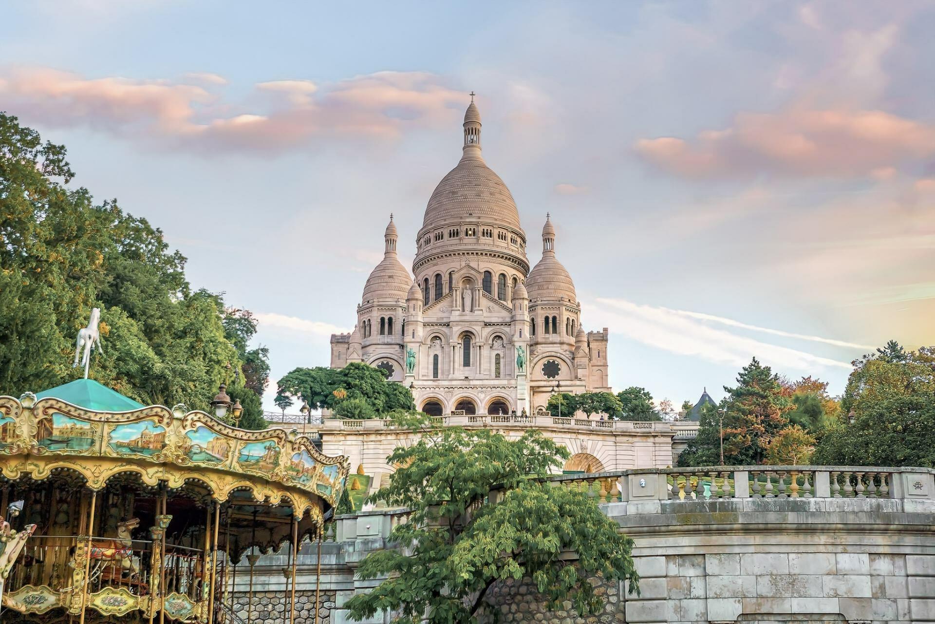 Instagrammable places in Paris - Sacre Coeur