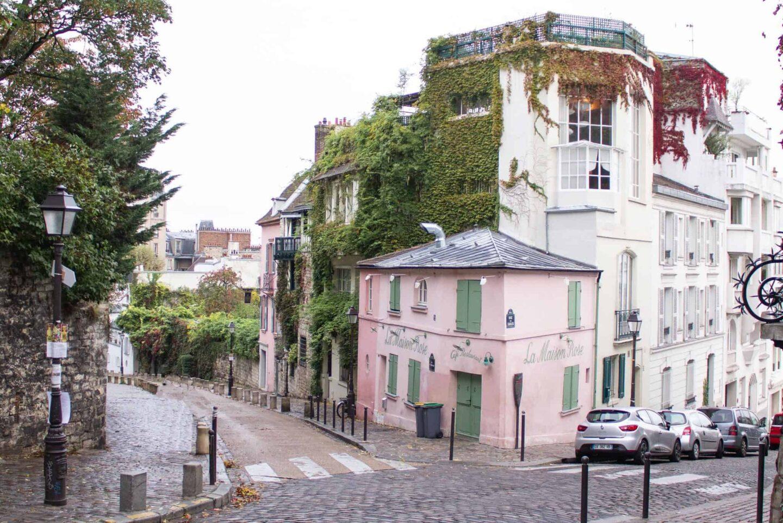 A day in Montmartre - La Maison Rose
