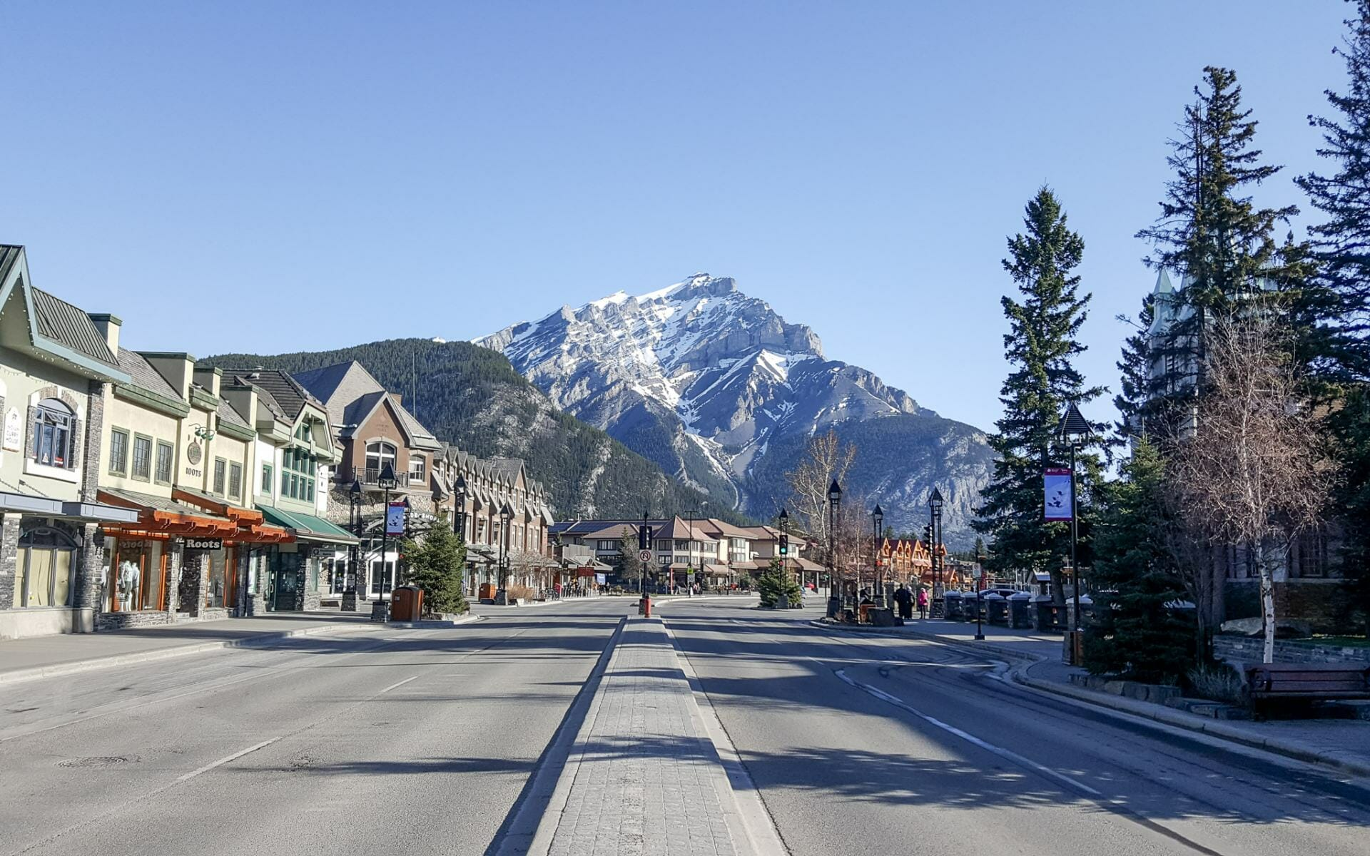 Banff Avenue is a must see if you have 4 days in Banff