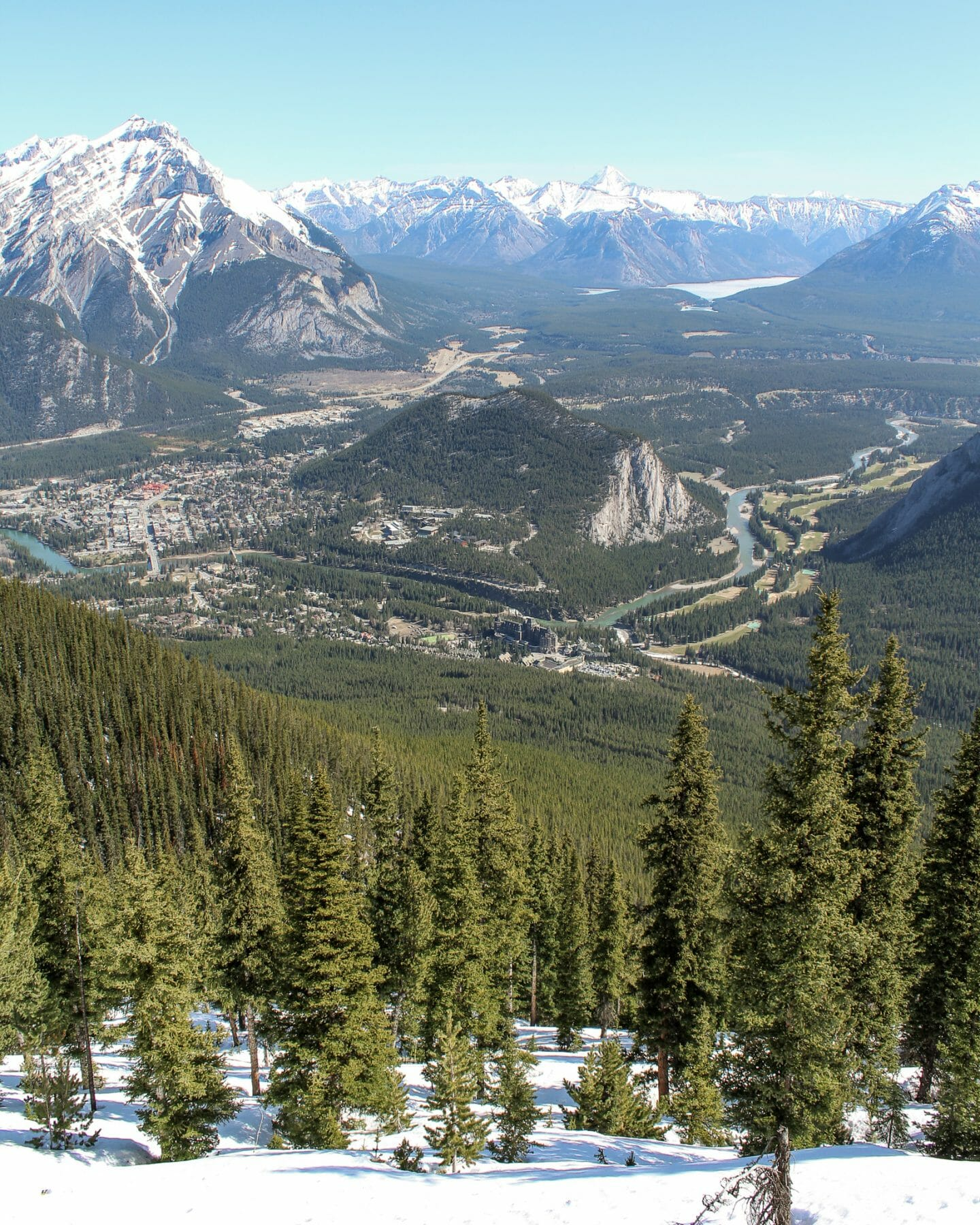 4 days in Banff - View from the Gondola