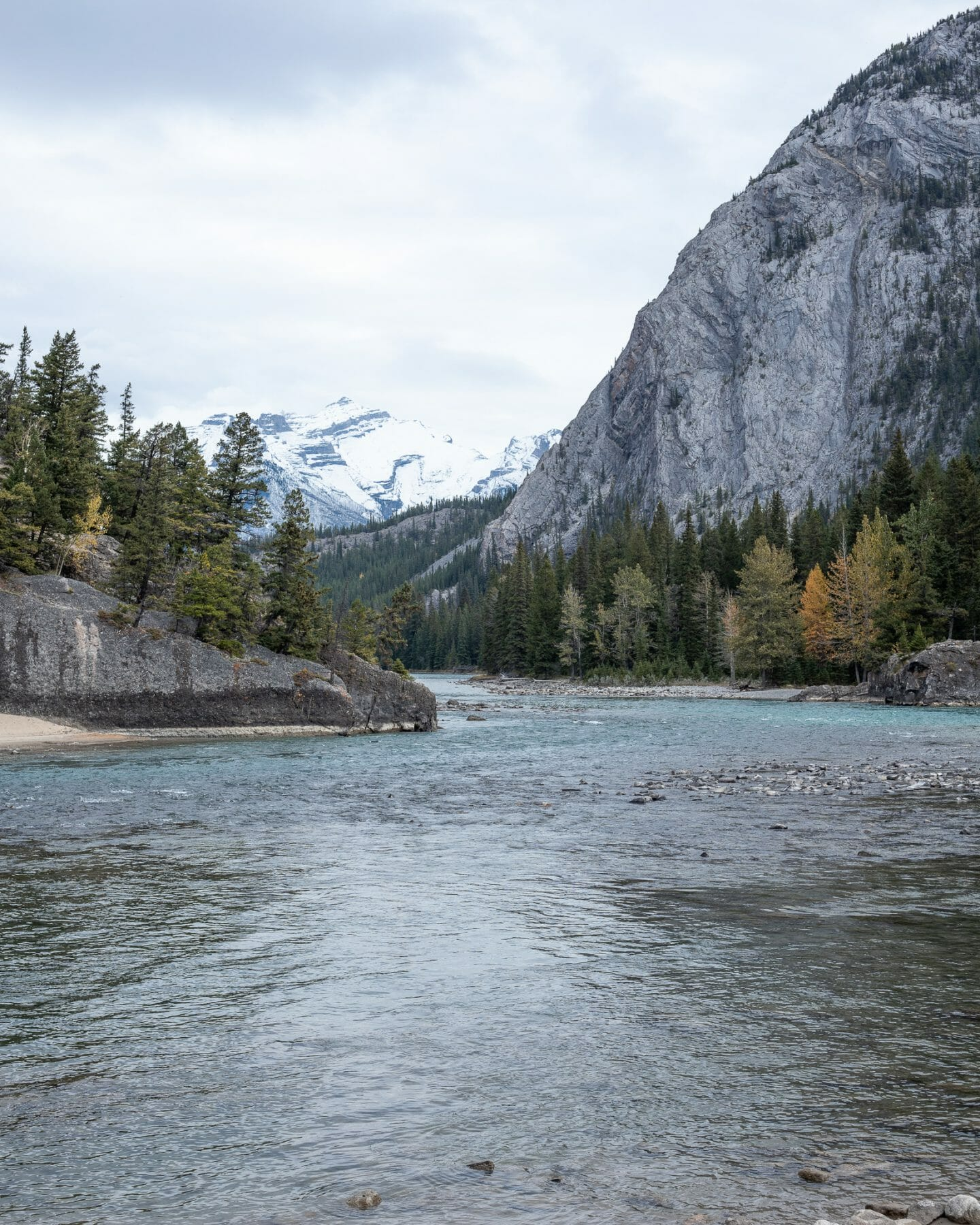 4 Days in Banff - View of Bow River