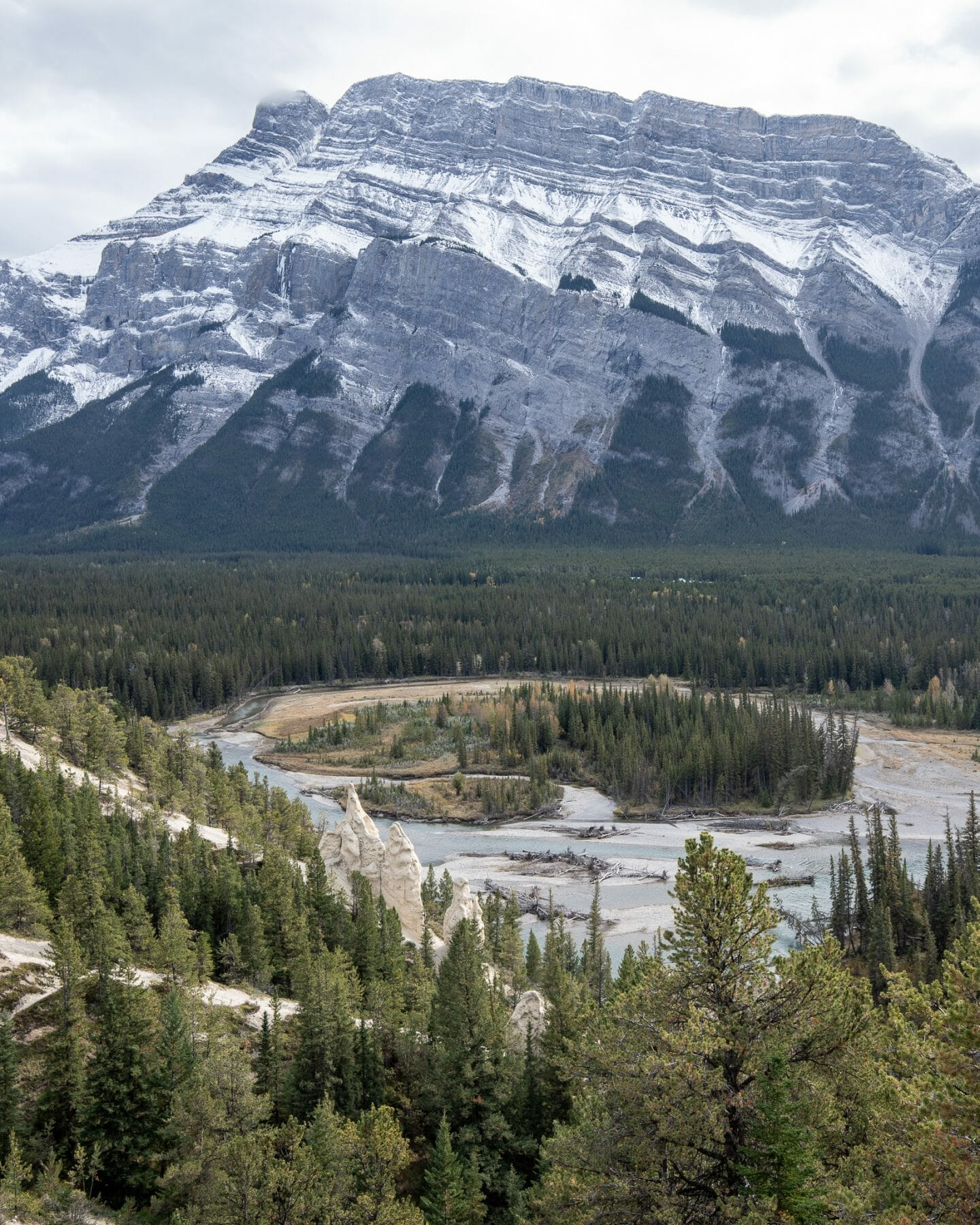 4 days in Banff - View of the Hoodoos