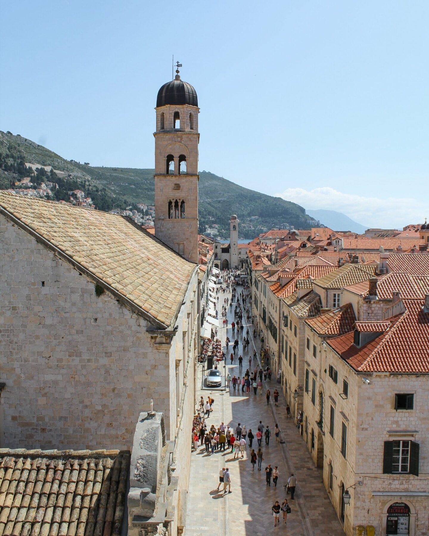 A week in Dubrovnik - The Stradun
