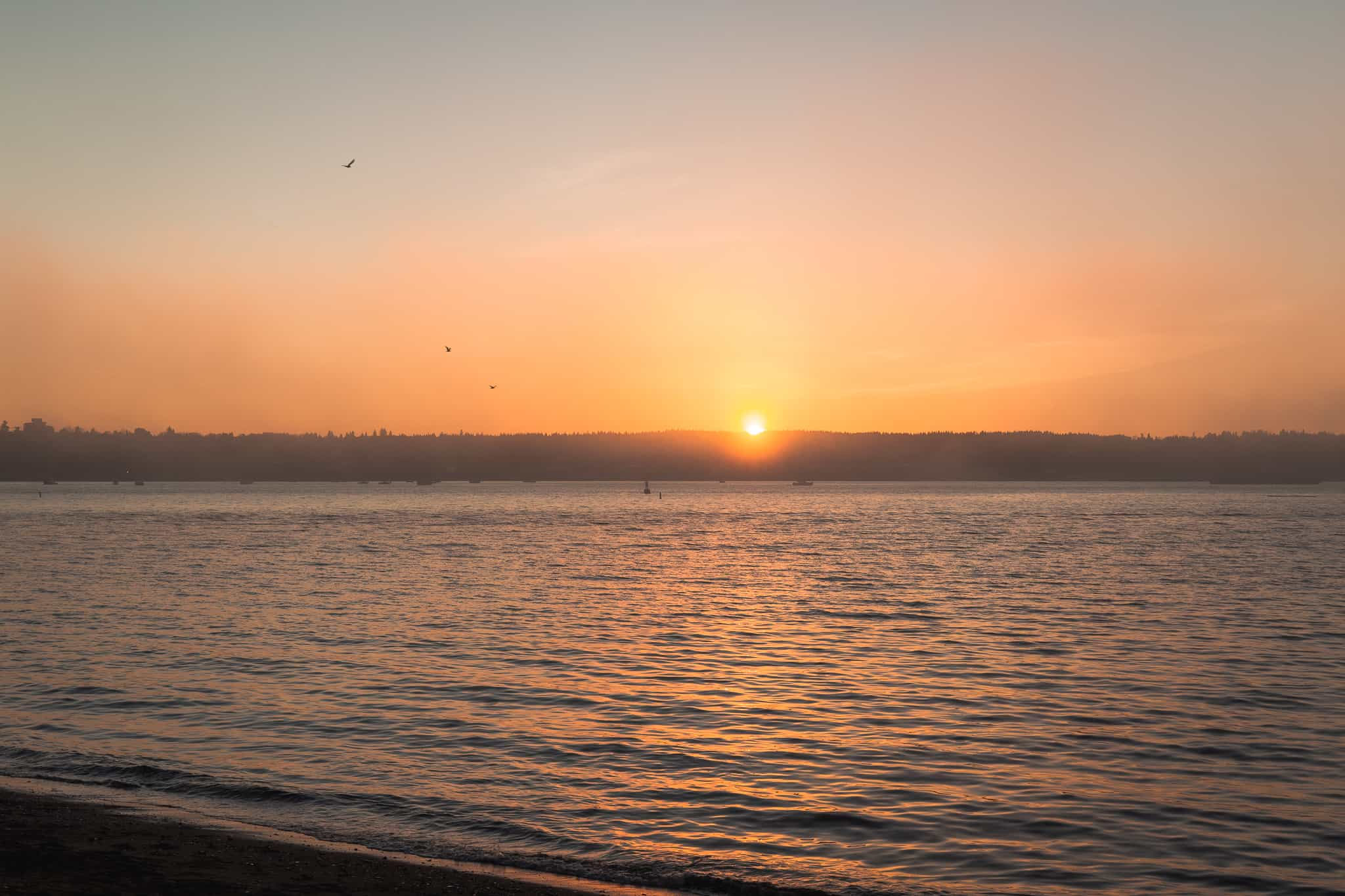 Instagrammable spots Vancouver -Sunset Beach Vancouver