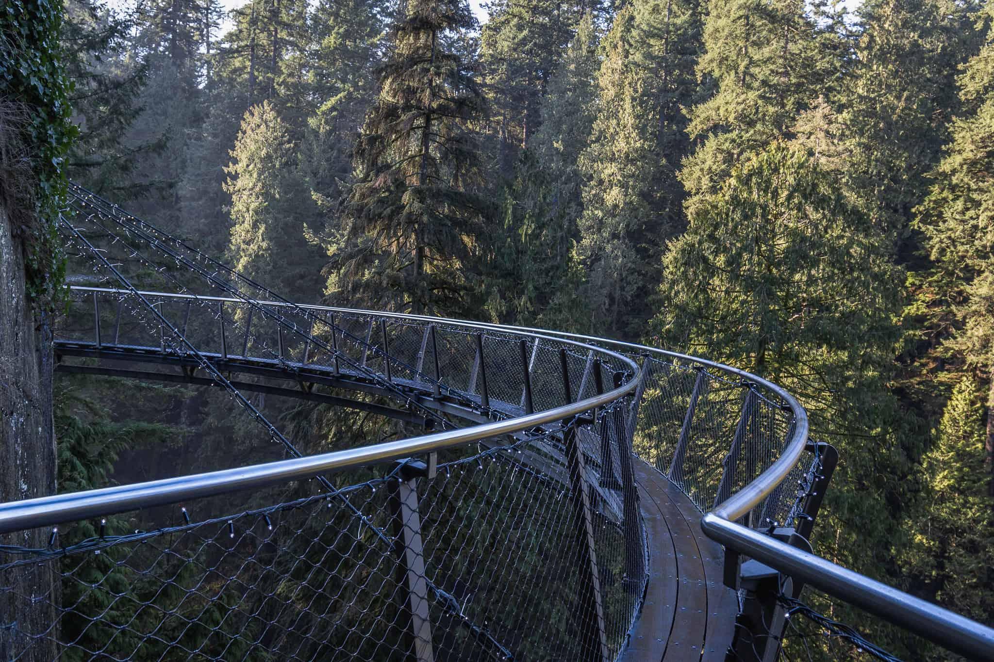 Cliffwalk at Capilano Suspension Park Vancouver