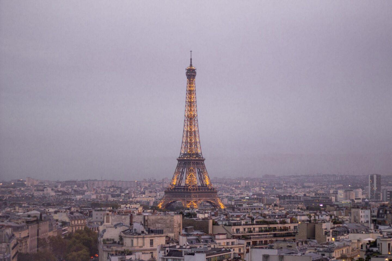 Best views in Paris - Arc de Triomphe