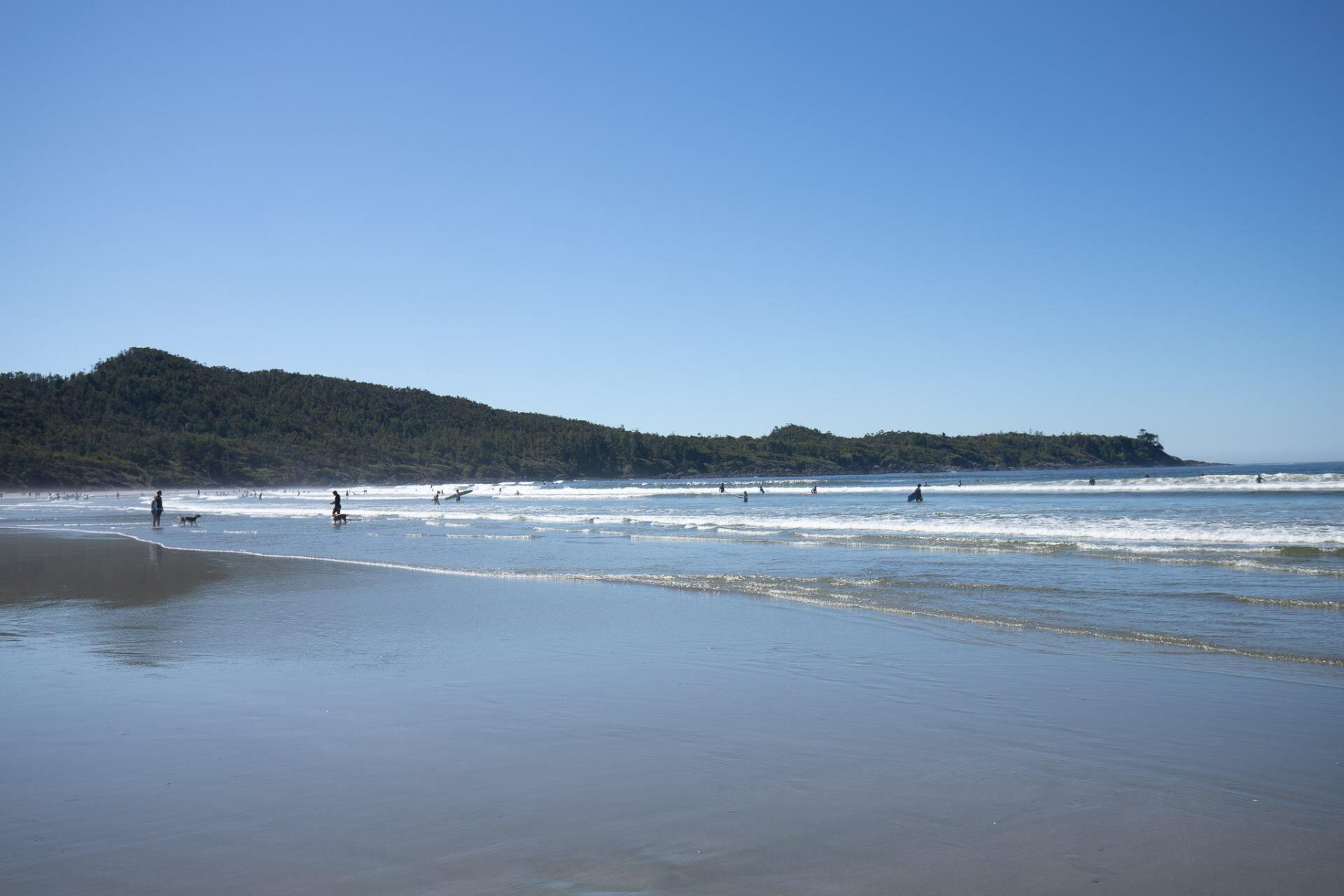 Cox Bay Beach in Tofino