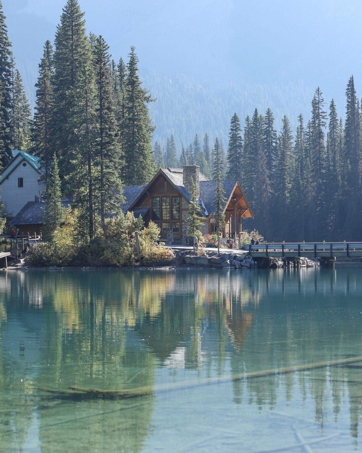 Emerald Lake Canadian Rockies Roadtrip