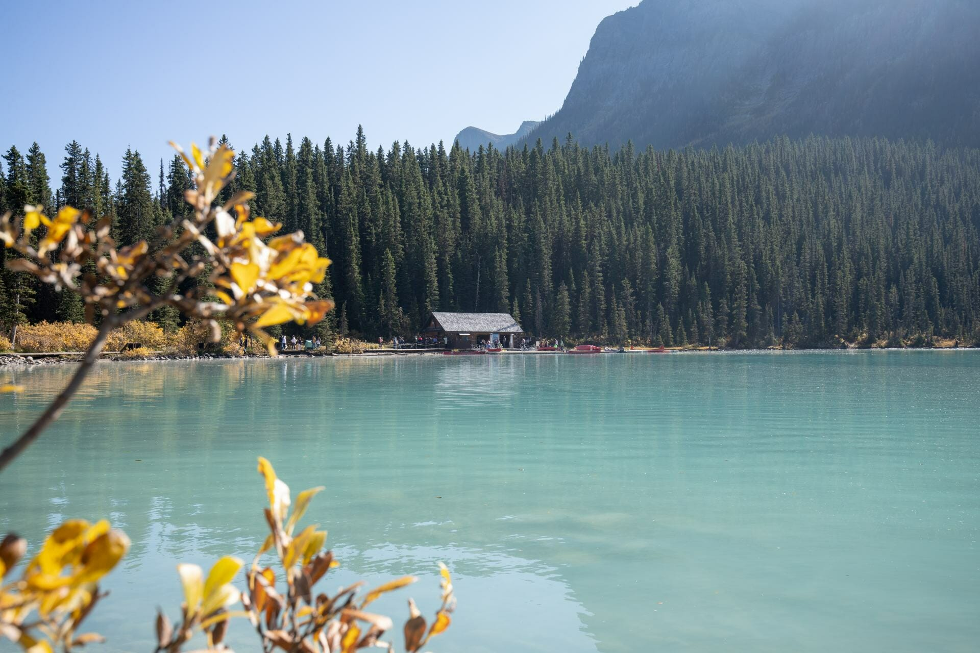 Lake Louise is one of the best photo spots in Banff