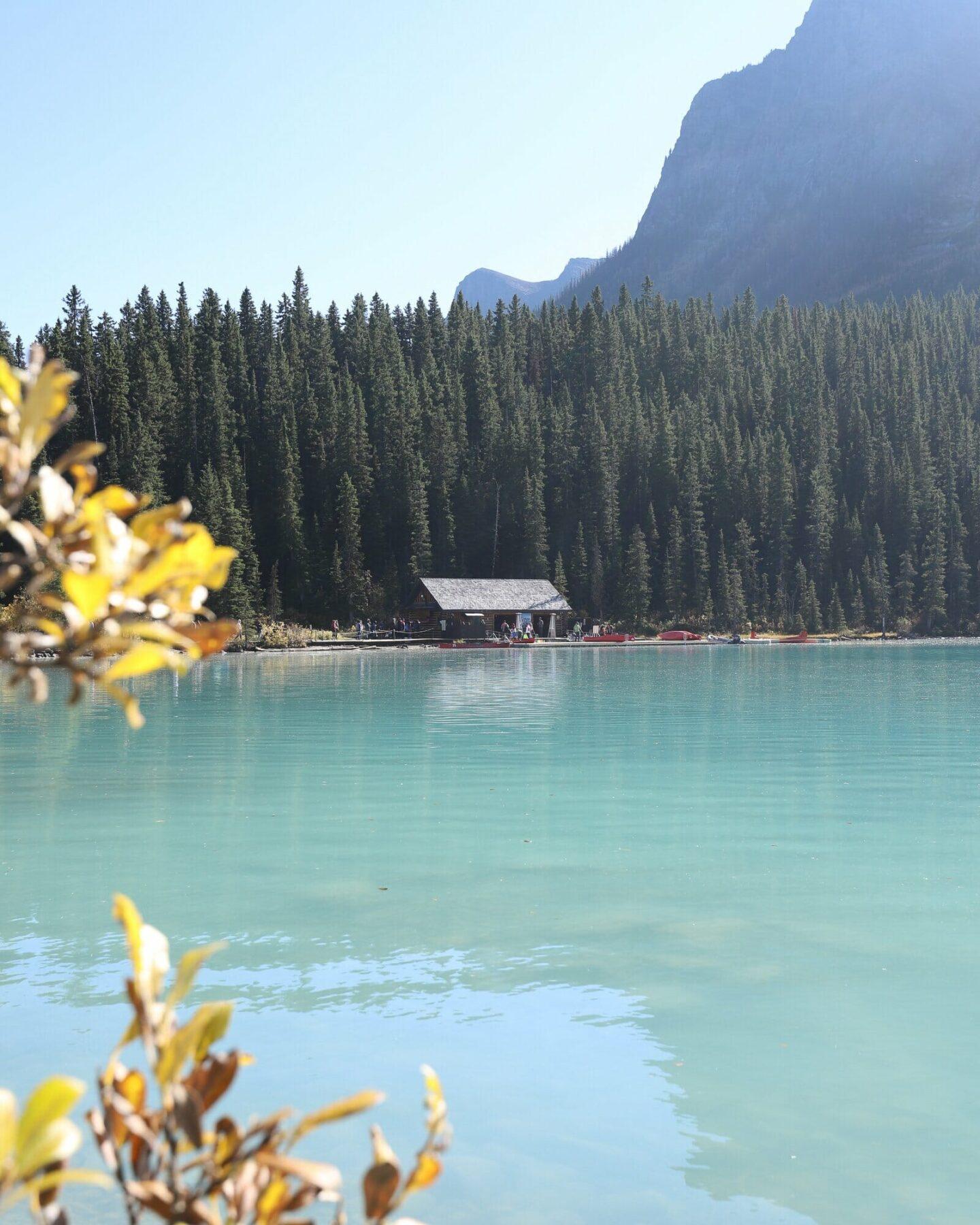 Lake Louise in October