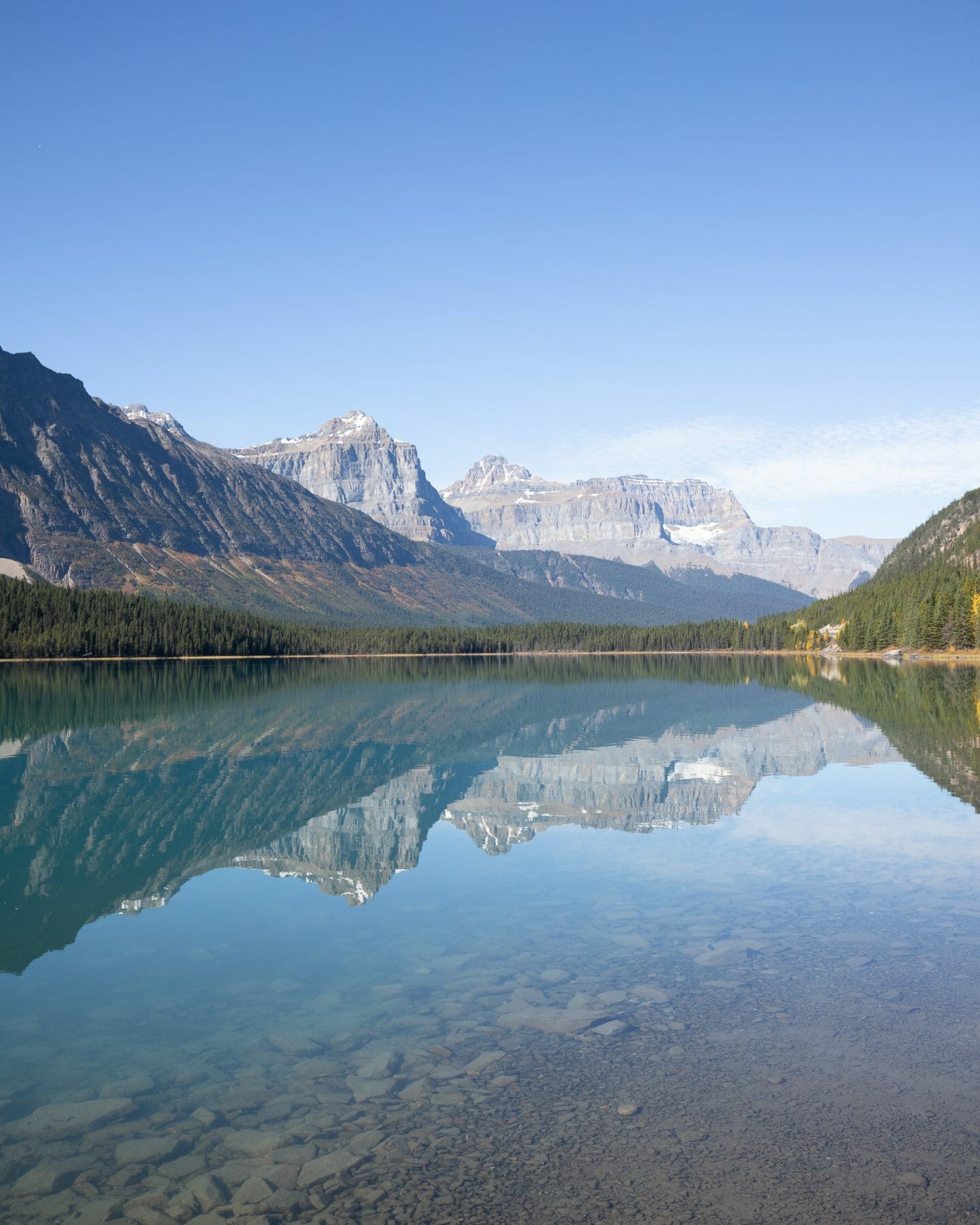 Waterfowl Lakes Icefields Parkway Itinerary