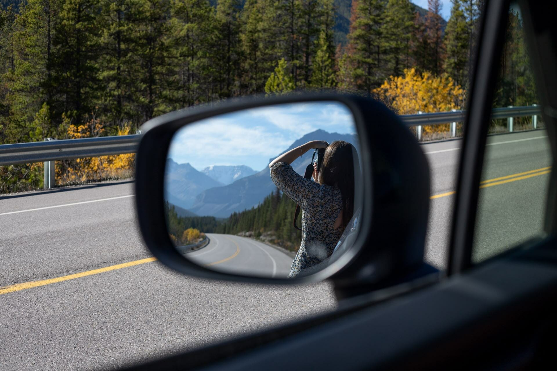 Driving Icefields Parkway