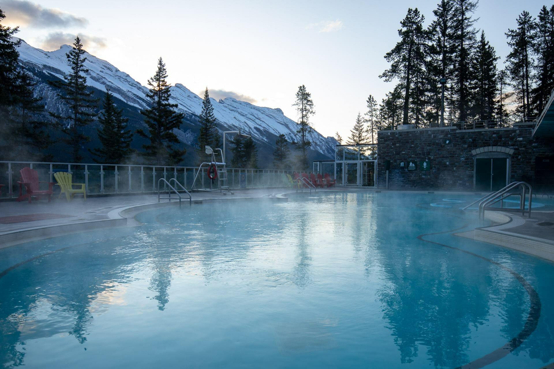 Banff Hot Springs - Best photo spots in Banff