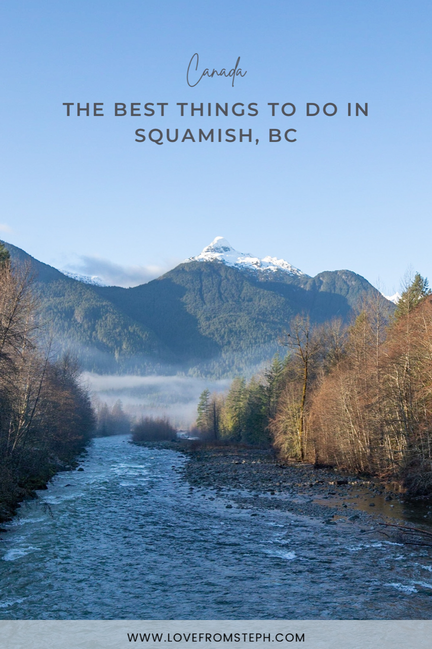 Things to do in Squamish Pin