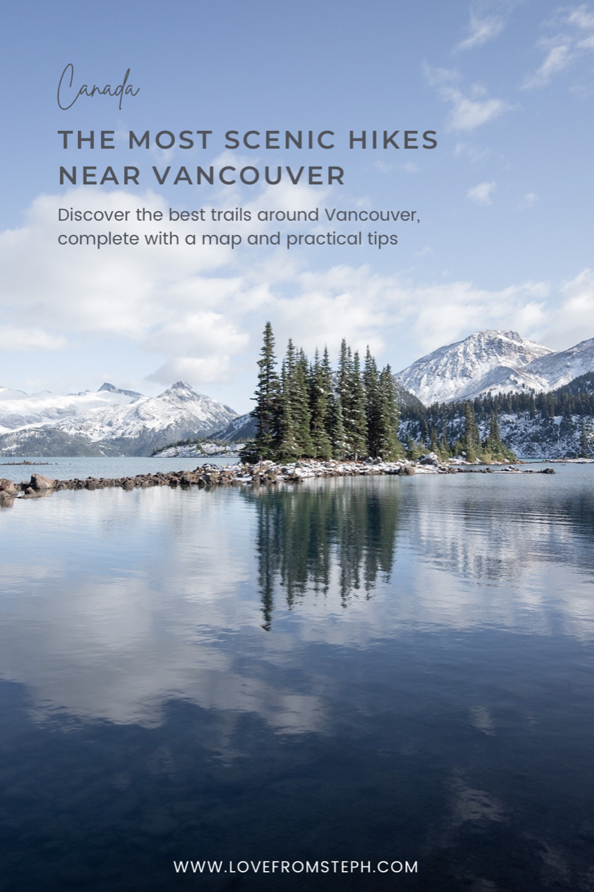 Hikes near Vancouver Pin