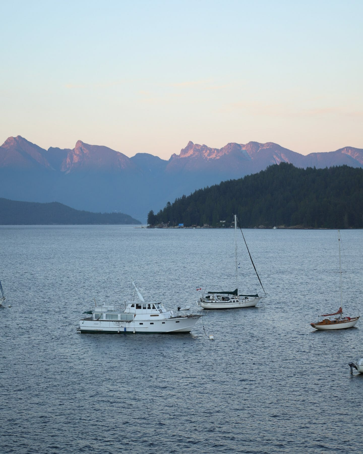 View from Buono Osteria in Gibsons