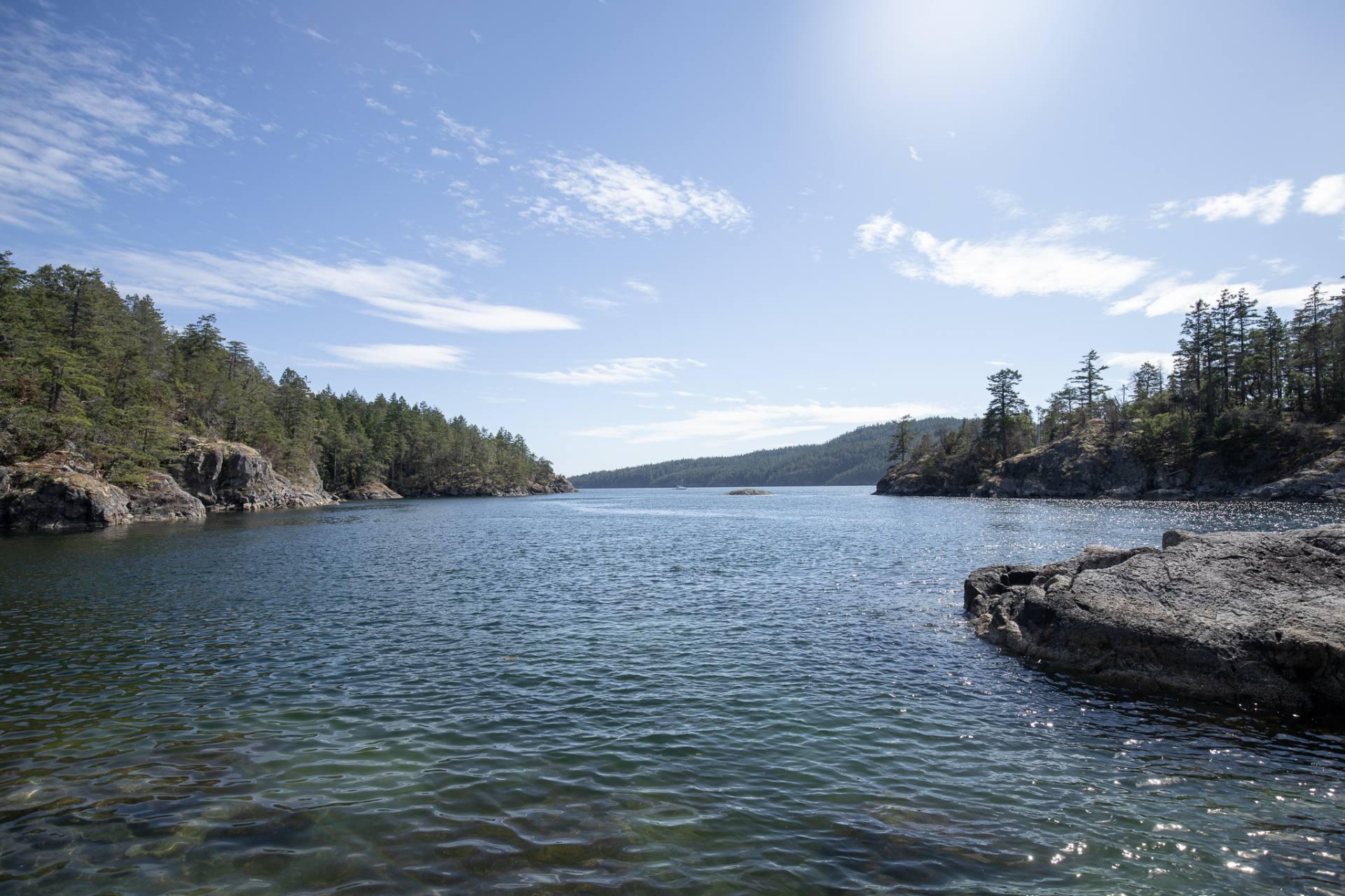 Smugglers Cove on BC's Sunshine Coast