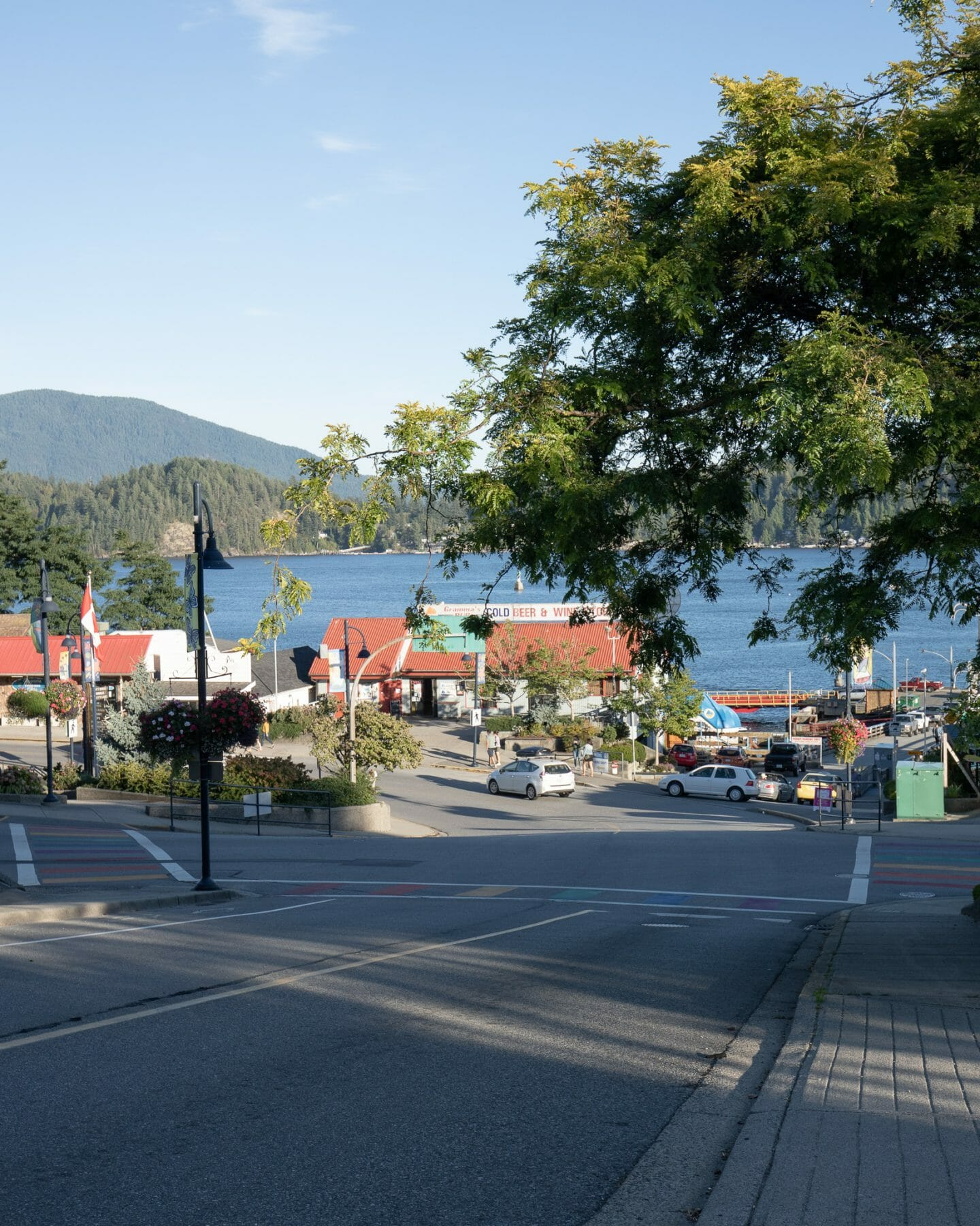 Gibsons town