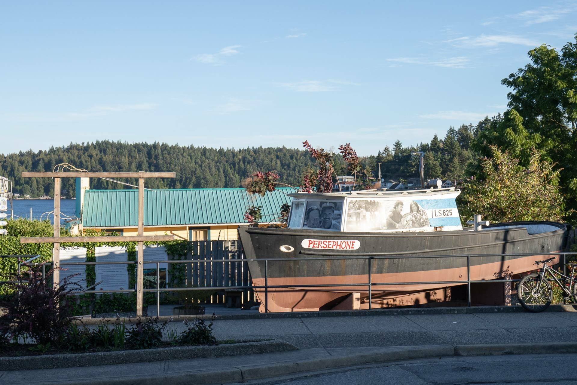 Seeing the Persephone is one of the best things to do in Gibsons
