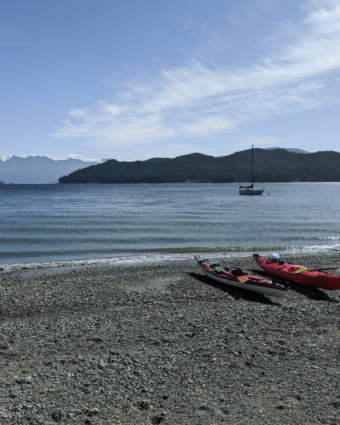 Kayaking in Gibsons BC