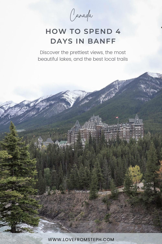 4 days in Banff 1