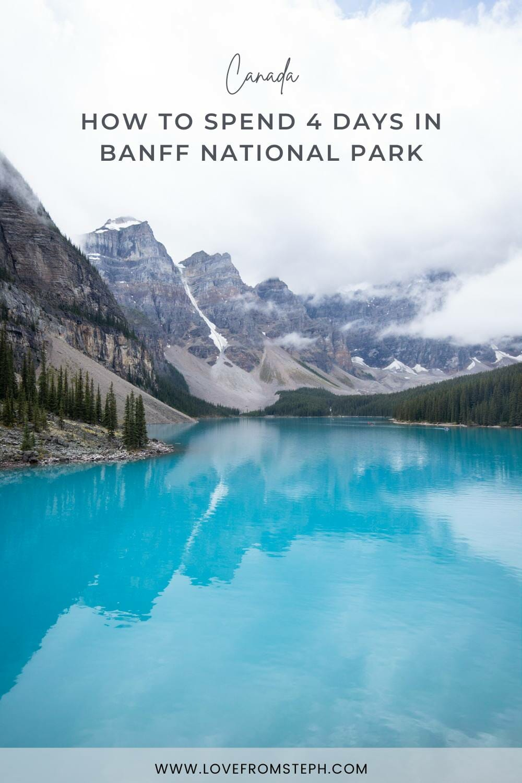 Banff Itinerary