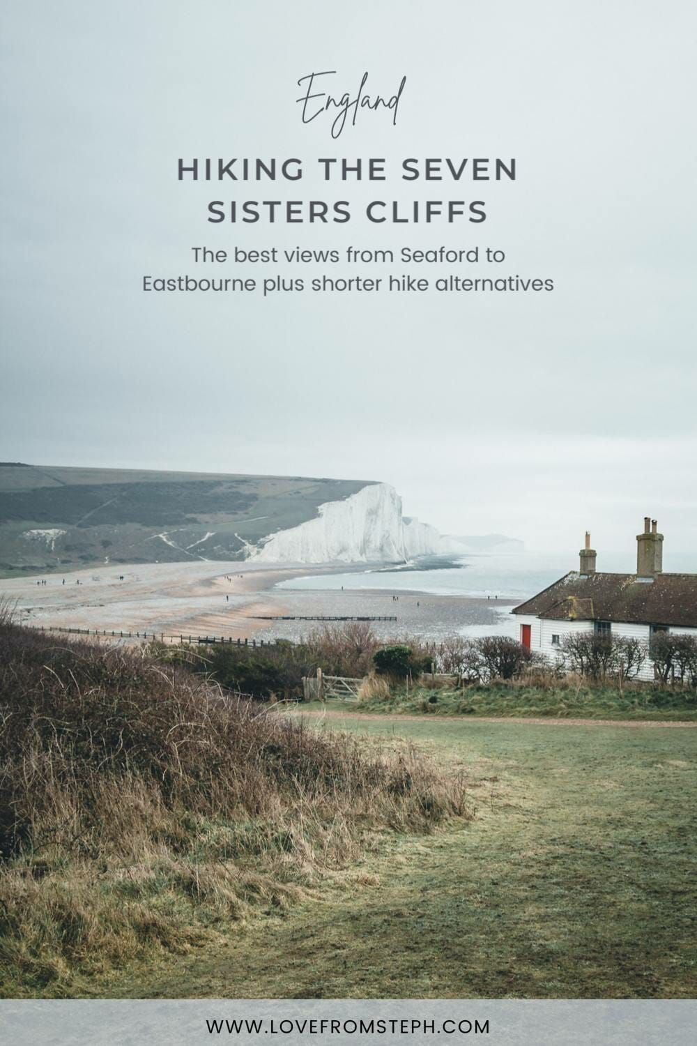 The Seven Sisters Cliffs England