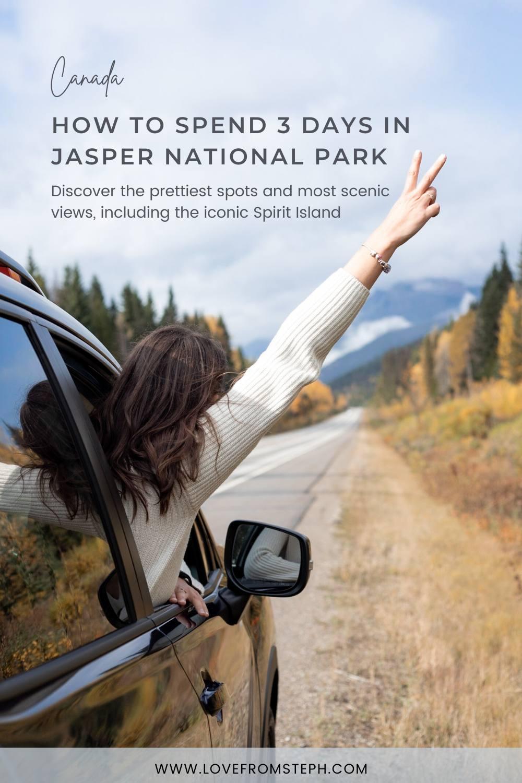 3 Days in Jasper Pinterest