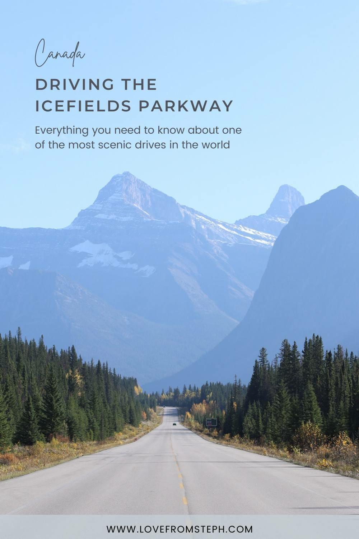 Icefields Parkway Roadtrip