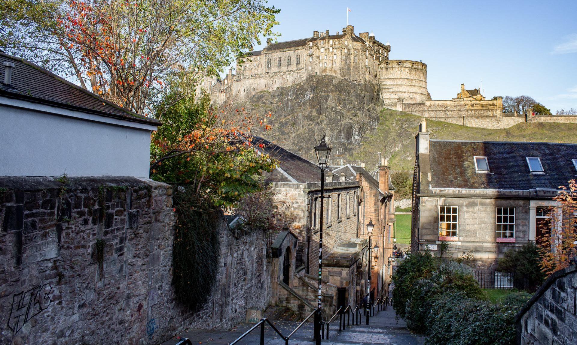 48 hours in Edinburgh - The Vennel